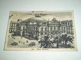 Cartolina Bari - Teatro Petruzzelli 1941 - Bari