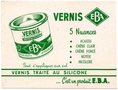 Buvard Vernis EBA, Vernis Traité Au Silicone. - Paints