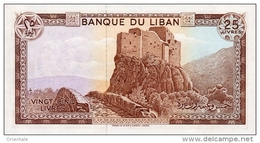 LEBANON P. 64c 25 L  1983 UNC - Lebanon