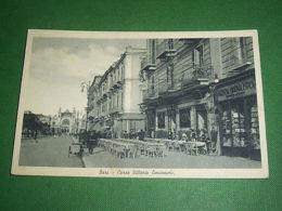 Cartolina Bari - Corso Vittorio Emanuele 1941 *** - Bari