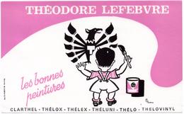 Buvard Peintures Théodore Lefebvre, Les Bonnes Peintures. - Peintures
