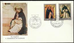 Vatican 1971 / San Domenico Di Guzman / Paintings - Religieux