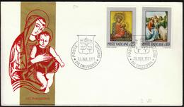 Vatican 1971 / Madona / Paintings - Madones