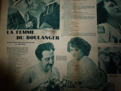 1939 Ciné-Miroir N° 718 RAIMU Dans La Femme Du Boulanger (film De Marcel Pagnol D'après Une Nouvelle De Jean Giono ; Etc - Boeken, Tijdschriften, Stripverhalen