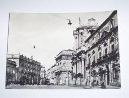 Cartolina Siracusa - Piazza Del Duomo 1955 Ca - Siracusa