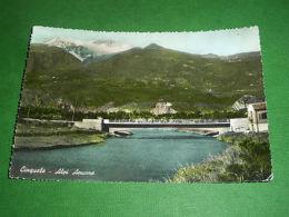 Cartolina Cinquale - Alpi Apuane - Scorcio Panoramico 1954 - Massa