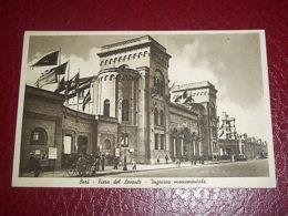 Cartolina Bari - Fiera Del Levante - Ingresso Monumentale 1940 Ca - Bari