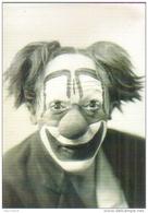 """Carte Postale édition """"Dix Et Demi Quinze"""" - Regard Sur Le Cirque (clown - Albert Fratellini, Vers 1930 - Photo Endrey) - Reclame"""