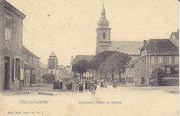 Alberschweiler ,Abreschviller ,place De L'église ,1906 - France