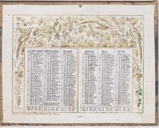 CALENDRIER DES POSTES - 1882 - VILAIN PARIS - Calendriers