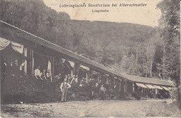 Alberschweiler ,Abreschviller ,Lothringisches Sanarorium ,Liegehalle ,1905 - France