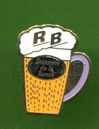 PIN'S BIERE  R.B. BRASSERIE DE LA RANCE - Bière