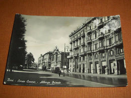 Cartolina Bari - Corso Cavour - Albergo Oriente 1955 - Bari