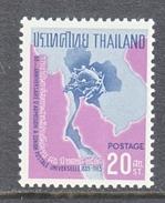 THAILAND  436   **     U.P.U.   MAP - Thaïlande