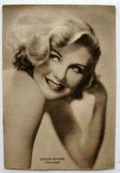 Cartolina Viaggiata Ginger Rogers Universal 1942 - Non Classificati