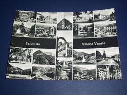 Cartolina Vittorio Veneto - Vedute Diverse 1955 - Treviso