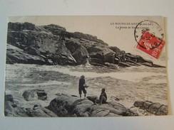T27 LE BOURG DE BATZ  La Pointe De Pierre Longue  1909  Animée - Batz-sur-Mer (Bourg De B.)