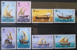 G30 - BAHRAIN 1979 SG 258-265 Complete Set 8v. MNH - Types Of Dhows - Ships - Bahrain (1965-...)