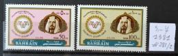 G30 - BAHRAIN 1981 SG 281-282 Complete Set 2v. MNH - 50th Anniv Of Electrical Power - Electricity - Bahrain (1965-...)