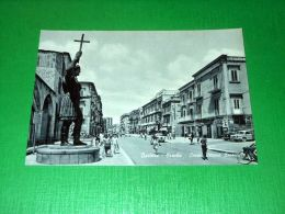 Cartolina Barletta - Eraclio - Corso Vittorio Emanuele 1955 Ca - Bari