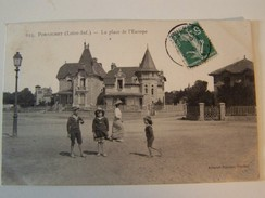 T27 PORNICHET La Plage De L Europe  1909  Animée - Pornichet