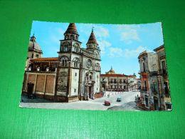 Cartolina Acireale - Cattedrale 1960 Ca - Catania