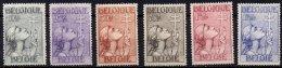 BELGIQUE - 6 Valeurs Da La Série Antituberculeux De 1933 - Unused Stamps
