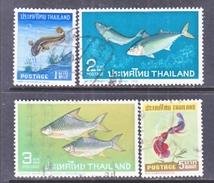 THAILAND  464-7  (o)    FISHES - Thailand
