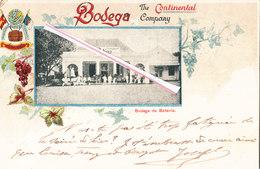 BODEGA De BATAVIA - The Continental Company Carte Colorée - Indonesia