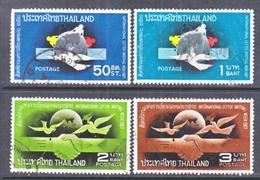 THAILAND  490-3   (o)  INTL.  LETTER  WEEK - Thailand