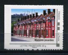 """LES MAISONS PICARDES Adhésif Neuf ** . Collector """" LA PICARDIE """"  2009 - France"""