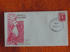"""Enveloppe 1er Jour """"Le Cagou Rose"""" - Nieuw-Caledonië"""