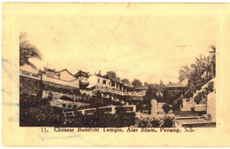 CPA N°212 - CHINESE BUDDHIST TEMPLE, AJER ETAM, PENANG, S.S. - China