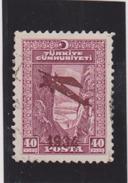 TURQUIE   1934  Poste Aérienne  Y.T. N° 1  à  5  Incomplet  Oblitéré - Luftpost