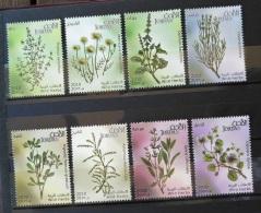 J27 - Jordan 2011 MNH Complete Set 8v. -  Wild Herbs - Health - Jordan