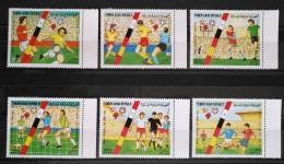 Y31 -  Yemen AR 1982 Mi. 1753/8 Complete Set 6v. MNH  - Spain FIFA Football World Cup Championship - Yemen