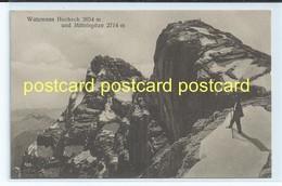 WATZMANN HOCHECK (2654 M). OLD USED POSTCARD C.1910  #655. - Berchtesgaden