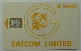 NIGERIA - Schlumberger - 1st Satcom Trial - 50 Naira - Used - Nigeria