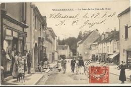 VILLERSEXEL - Le Bas De La Grande Rue    84 - France