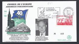 CONSEIL DE L´EUROPE 1ere PARTICIPATION SAN MARINO SAINT-MARIN FDC LIMITED EDITION TIRAGE LIMITE 400 Ex - Lettres & Documents