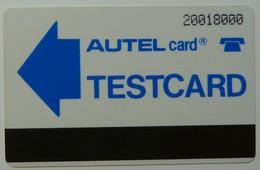 NIGERIA - Autelca - Testcard - Autel Card - 20018000 - Used - Nigeria