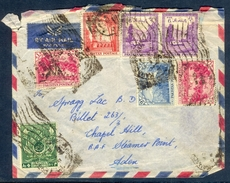 D4- Postal Used Cover. Posted From Pakistan To Aden. - Belgium