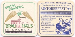 #D146-228 Viltje Brauhaus In Spandau - Sous-bocks