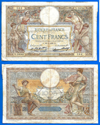 France 100 Francs 1929 30 Janvier Prefix X Merson Frcs Frc Grand Billet Skrill Paypal Bitcoin OK - 100 F 1908-1939 ''Luc Olivier Merson''