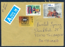 D13- Postal Used Cover. Posted From Belgium To Deutschland. - Belgium