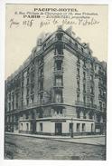 PARIS PACIFIC HOTEL ZOUBRITZKI 8 RUE PHILIPPE DE CHAMPAGNE + 16 RUE PRIMATICE /FREE SHIPPING REGISTERED - Arrondissement: 13