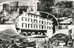 N°53821 -cpsm Meyrueis -hôtel De France- - Hotels & Gaststätten