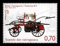 Bosnia And Herzegovina (Croatian) 2013 Mih. 363 International Firefighters' Day MNH ** - Bosnie-Herzegovine