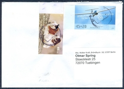 D37- Postal Used Cover. Posted From Deutschland. Birds. Aero-plane. - Germany