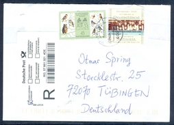 D40- Postal Used Cover. Posted From Merchantman To Deutschland. Birds. - Germany